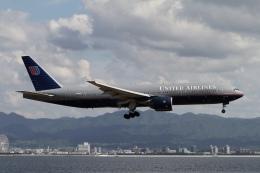 ☆H・I・J☆さんが、関西国際空港で撮影したユナイテッド航空 777-222/ERの航空フォト(飛行機 写真・画像)