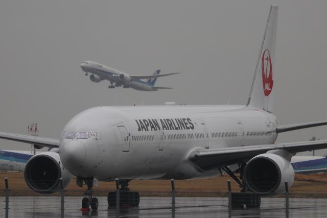 imosaさんが、羽田空港で撮影した日本航空 777-346の航空フォト(飛行機 写真・画像)
