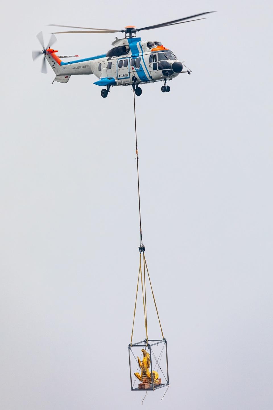 T spotterさんの中日本航空 Aerospatiale AS332 Super Puma (JA9965) 航空フォト