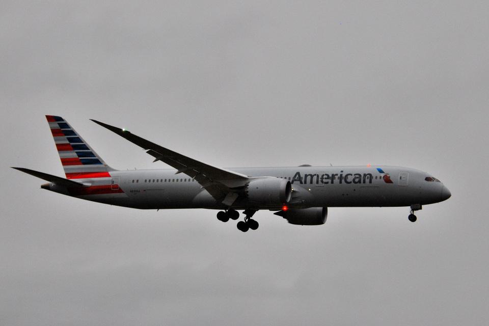 アルビレオさんのアメリカン航空 Boeing 787-9 (N839AA) 航空フォト