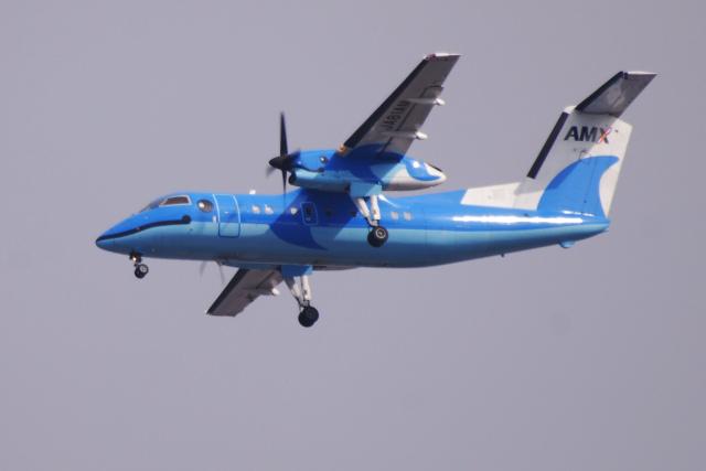 TOPAZ102さんが、伊丹空港で撮影した天草エアライン DHC-8-103Q Dash 8の航空フォト(飛行機 写真・画像)