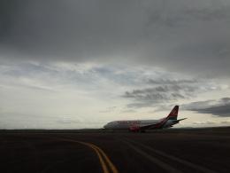 チャンギーVさんが、エンテベ国際空港で撮影したケニア航空 737-3U8の航空フォト(飛行機 写真・画像)