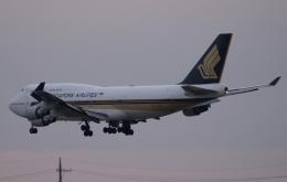 木人さんが、成田国際空港で撮影したシンガポール航空 747-412の航空フォト(飛行機 写真・画像)