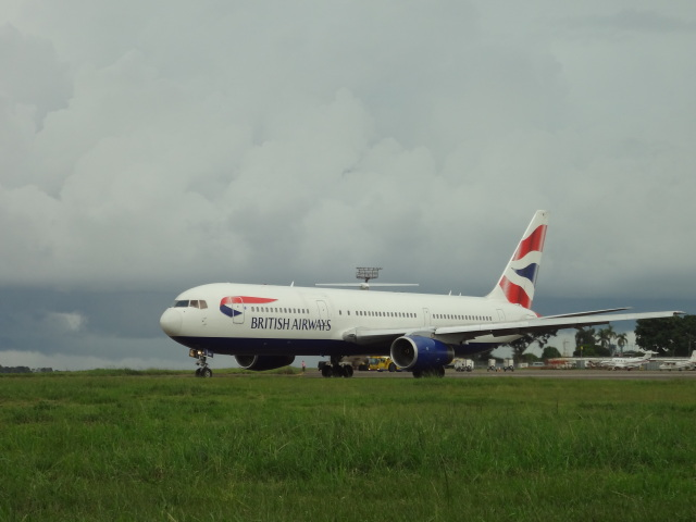 チャンギーVさんが、エンテベ国際空港で撮影したブリティッシュ・エアウェイズ 767-336/ERの航空フォト(飛行機 写真・画像)