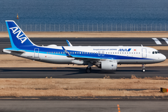 KoshiTomoさんが、羽田空港で撮影した全日空 A320-271Nの航空フォト(飛行機 写真・画像)