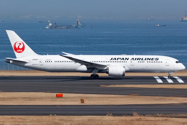 KoshiTomoさんが、羽田空港で撮影した日本航空 787-9の航空フォト(飛行機 写真・画像)