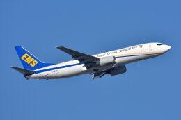 サンドバンクさんが、成田国際空港で撮影した中国郵政航空 737-8Q8(BCF)の航空フォト(飛行機 写真・画像)
