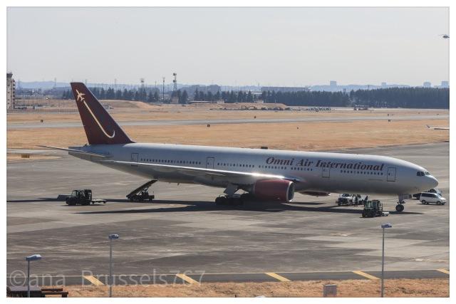 Hi.KOKIさんが、横田基地で撮影したオムニエアインターナショナル 777-2U8/ERの航空フォト(飛行機 写真・画像)
