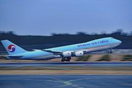 Souma2005さんが、成田国際空港で撮影した大韓航空 747-8HTFの航空フォト(飛行機 写真・画像)