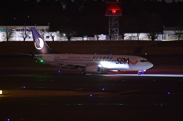 Souma2005さんが、成田国際空港で撮影した山東航空 737-85Nの航空フォト(飛行機 写真・画像)