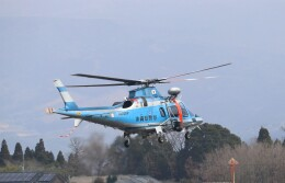 EosR2さんが、鹿児島空港で撮影した沖縄県警察 A109E Powerの航空フォト(飛行機 写真・画像)