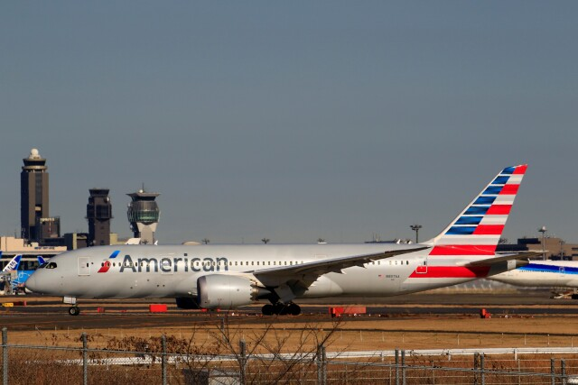 ☆ライダーさんが、成田国際空港で撮影したアメリカン航空 787-8 Dreamlinerの航空フォト(飛行機 写真・画像)