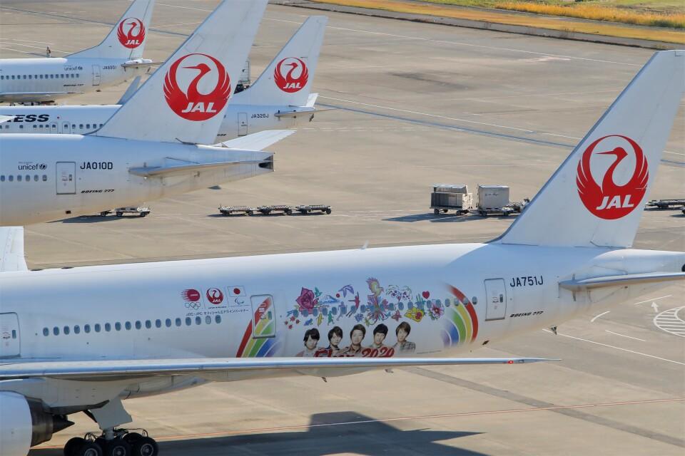 ☆ライダーさんの日本航空 Boeing 777-300 (JA751J) 航空フォト