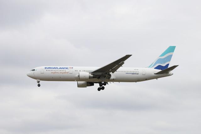 マーサさんが、成田国際空港で撮影したユーロアトランティック・エアウェイズ 767-34P/ERの航空フォト(飛行機 写真・画像)