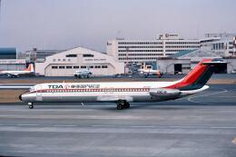 パール大山さんが、羽田空港で撮影した東亜国内航空 DC-9-41の航空フォト(飛行機 写真・画像)