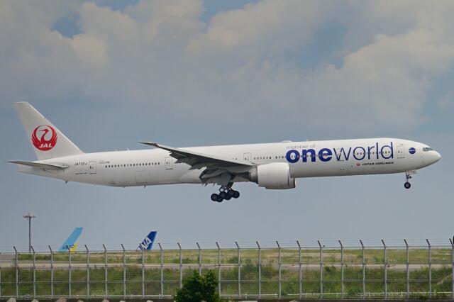 シグナス021さんが、羽田空港で撮影した日本航空 777-346/ERの航空フォト(飛行機 写真・画像)