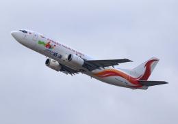 LOTUSさんが、関西国際空港で撮影した天津貨運航空 737-44P(SF)の航空フォト(飛行機 写真・画像)