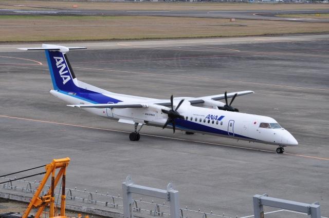 うすさんが、宮崎空港で撮影したANAウイングス DHC-8-402Q Dash 8の航空フォト(飛行機 写真・画像)