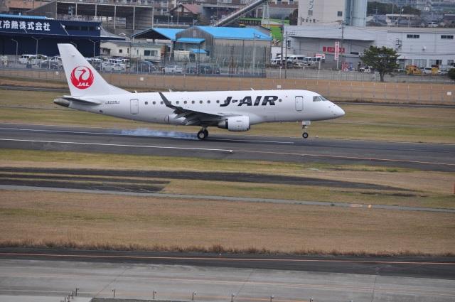 うすさんが、宮崎空港で撮影したジェイエア ERJ-170-100 (ERJ-170STD)の航空フォト(飛行機 写真・画像)
