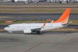 ニヤンさんが、羽田空港で撮影したハンワ・ケミカル 737-7HF BBJの航空フォト(飛行機 写真・画像)