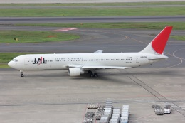 ニヤンさんが、羽田空港で撮影した日本航空 767-346の航空フォト(飛行機 写真・画像)