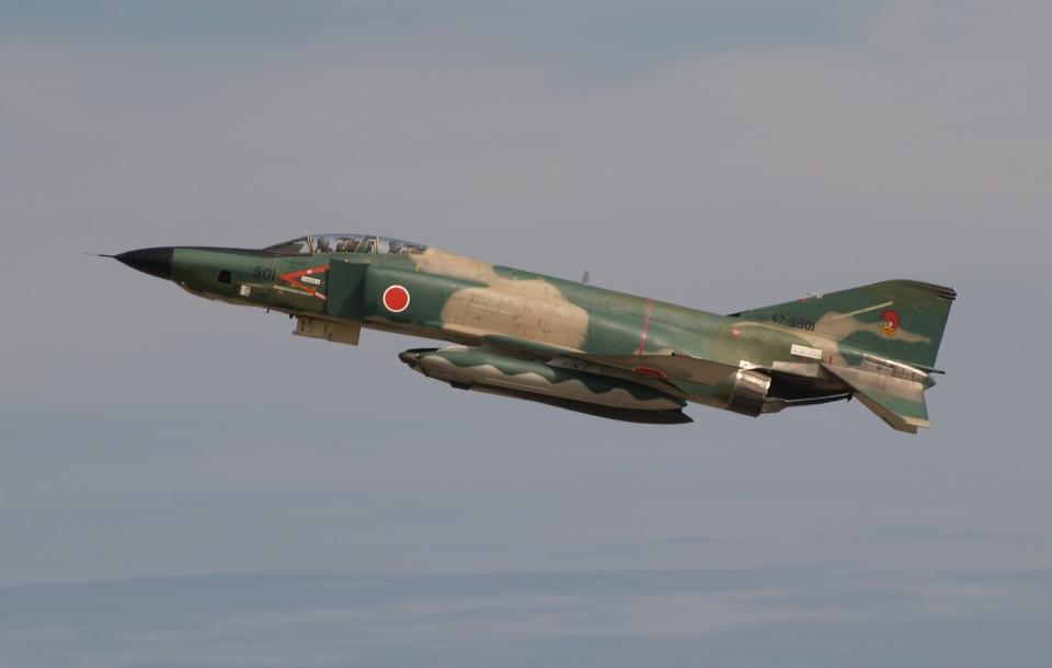 木人さんの航空自衛隊 McDonnell Douglas RF-4E Phantom II (47-6901) 航空フォト