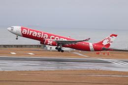 クロマティさんが、中部国際空港で撮影したタイ・エアアジア・エックス A330-343Eの航空フォト(飛行機 写真・画像)
