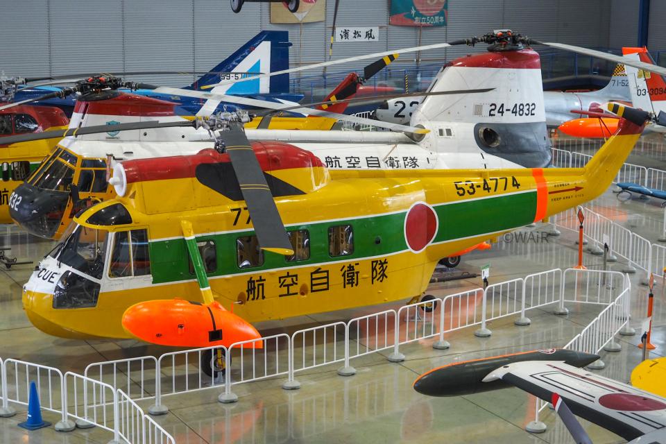 WAiRさんの航空自衛隊 Mitsubishi S-62 (53-4774) 航空フォト