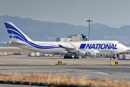 sachiさんが、関西国際空港で撮影したナショナル・エアラインズ 747-412(BCF)の航空フォト(飛行機 写真・画像)