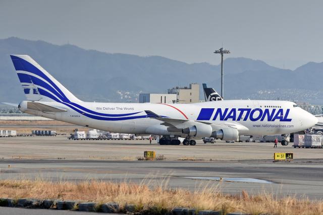 航空フォト:N729CA ナショナル・エアラインズ 747-400