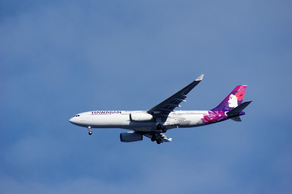 ぼくちゃんさんのハワイアン航空 Airbus A330-200 (N386HA) 航空フォト