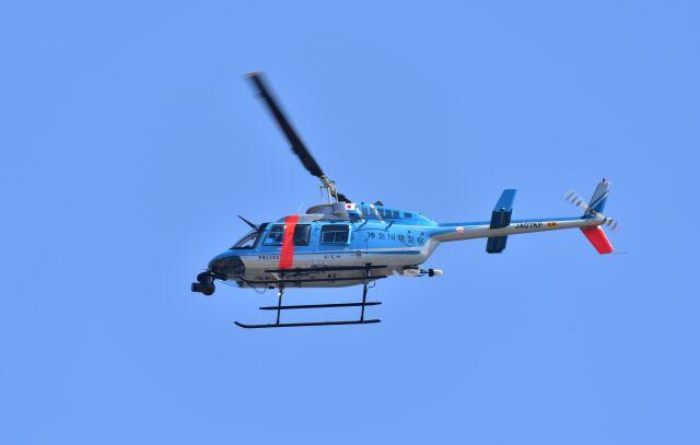 kotaちゃんさんが、厚木飛行場で撮影した神奈川県警察 206L-4 LongRanger IVの航空フォト(飛行機 写真・画像)