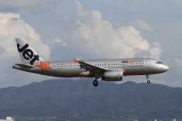 ☆H・I・J☆さんが、関西国際空港で撮影したジェットスター・アジア A320-232の航空フォト(飛行機 写真・画像)
