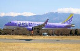 taikirikioさんが、松本空港で撮影したフジドリームエアラインズ ERJ-170-200 (ERJ-175STD)の航空フォト(飛行機 写真・画像)