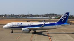 Cassiopeia737さんが、高知空港で撮影した全日空 A320-271Nの航空フォト(飛行機 写真・画像)