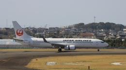 Cassiopeia737さんが、高知空港で撮影した日本航空 737-846の航空フォト(飛行機 写真・画像)