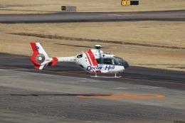 ゆうゆう@NGO さんが、名古屋飛行場で撮影した中日本航空 EC135P2の航空フォト(飛行機 写真・画像)