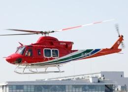 voyagerさんが、東京ヘリポートで撮影した長野県消防防災航空隊 412EPIの航空フォト(飛行機 写真・画像)