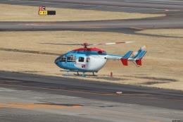 ゆうゆう@NGO さんが、名古屋飛行場で撮影した中日新聞社 BK117C-2の航空フォト(飛行機 写真・画像)