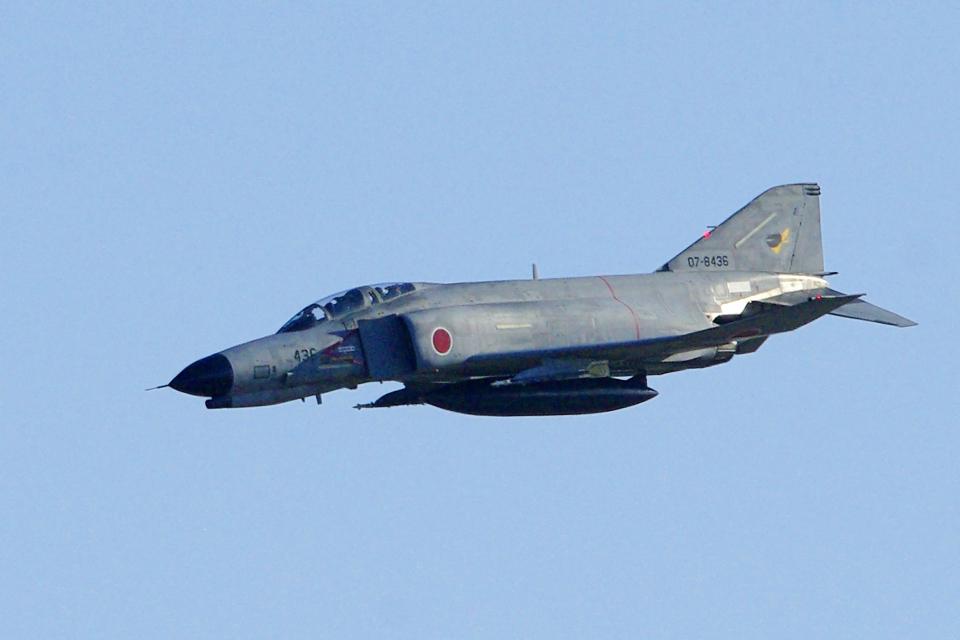AWACSさんの航空自衛隊 Mitsubishi F-4EJ Kai Phantom II (07-8436) 航空フォト