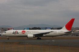 SGさんが、福岡空港で撮影した日本航空 767-346/ERの航空フォト(飛行機 写真・画像)