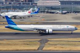 Battleshipさんが、羽田空港で撮影したガルーダ・インドネシア航空 777-3U3/ERの航空フォト(飛行機 写真・画像)