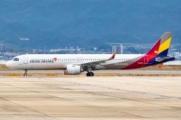 Ariesさんが、関西国際空港で撮影したアシアナ航空 A321-251NXの航空フォト(飛行機 写真・画像)