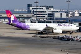 Ariesさんが、関西国際空港で撮影したハワイアン航空 A330-243の航空フォト(飛行機 写真・画像)