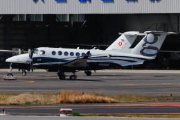 A.Tさんが、八尾空港で撮影したクリアネット King Air 350i (B300)の航空フォト(飛行機 写真・画像)
