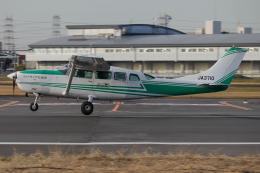 A.Tさんが、八尾空港で撮影したアドバンス・エア・スポーツ T207A Turbo Stationair 7の航空フォト(飛行機 写真・画像)
