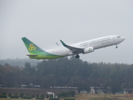 F.YUKIHIDEさんが、成田国際空港で撮影した春秋航空日本 737-8ALの航空フォト(飛行機 写真・画像)