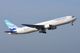 のぎスポさんが、成田国際空港で撮影したユーロアトランティック・エアウェイズ 767-34P/ERの航空フォト(飛行機 写真・画像)