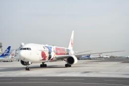 B747‐400さんが、羽田空港で撮影した日本航空 767-346/ERの航空フォト(飛行機 写真・画像)