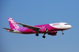 航空フォト:JA818P ピーチ A320